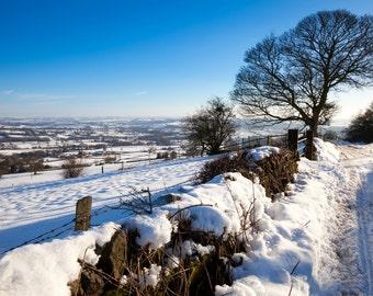 Rural Derbyshire in Winter
