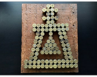 Bullet Shell Rain Cross
