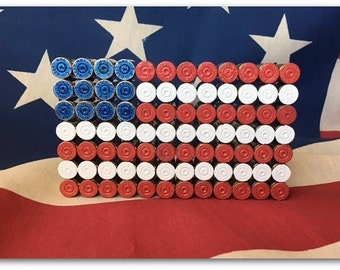 40 S&W Bullet Shell US Flag