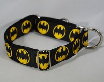 "Martingale ""Batman"" Dog Collar"