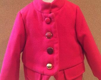 Red Circus Coat