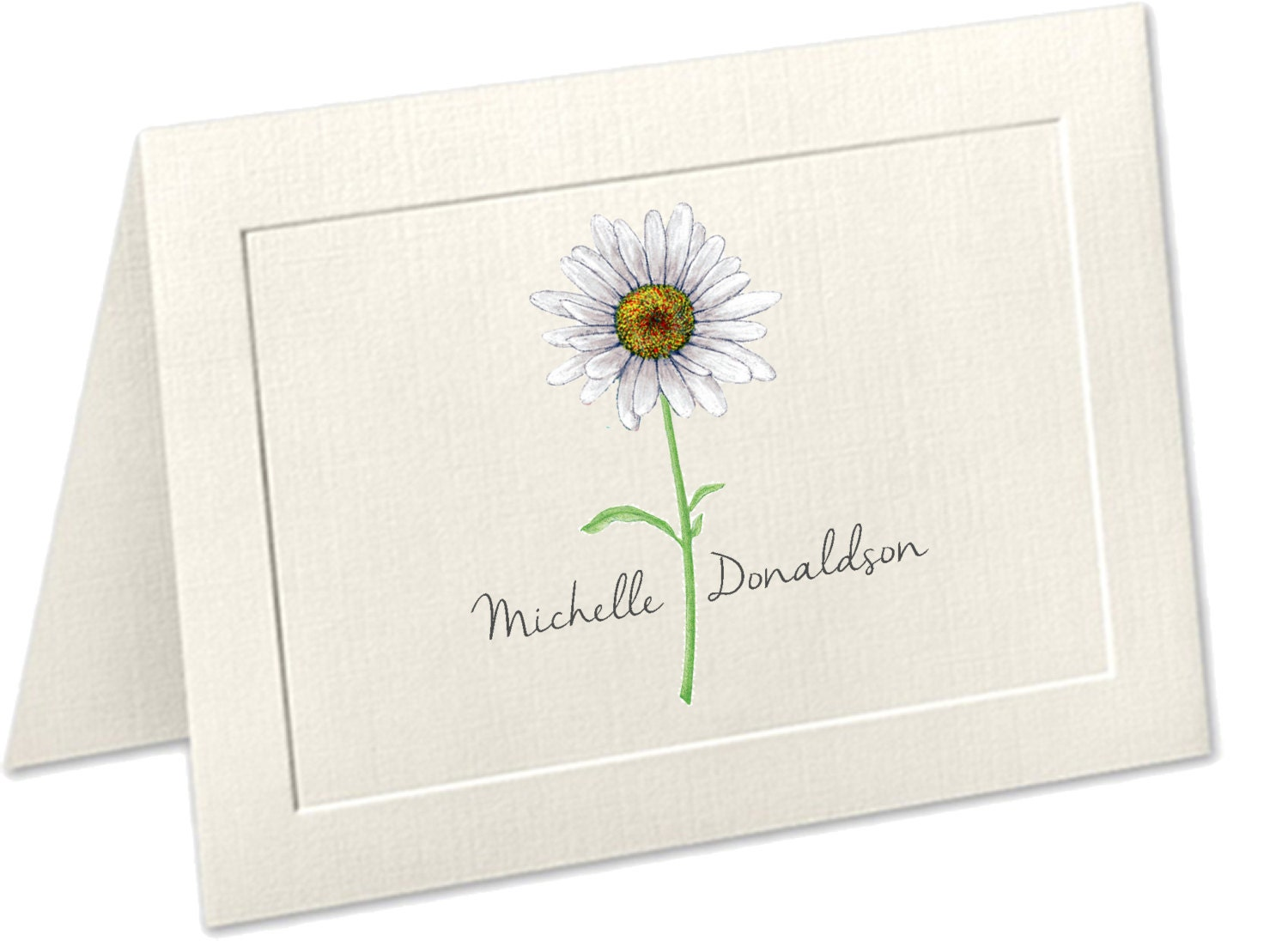 Gratifying image for embossed stationery