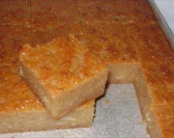 Gluten free, Grain free, Dairy free, Cassava (yuca) Pone.