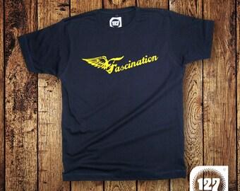 Men's T-shirt 'Fascination' – Blue