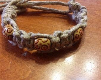 Thick Hemp Bracelet