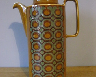 Retro Hornsea Bronte Coffee Pot 1977