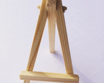 Mini Easel for 3x3 Canvas | Christmas Gifts | Gifts for Mom | Cake Topper | Office Decor | Home Decor