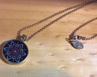 Mandala  necklace meditation Zen ma vie