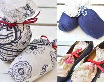 Set x 3 Shoes Fresheners Deodorized Bags Scented Sachets Gift Shoes Accesories Organic Natural Ingredients Aroma