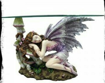 Crystal table fairy