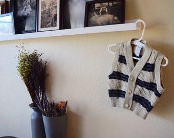 Boys Knit Striped Vest