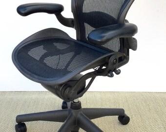 """Herman Miller """" Aeron """" Chair ."""