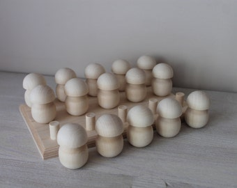 Montessori toy - wooden shape toy (15)