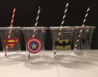 Super Hero Party Cups