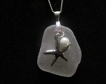 A Stunning Beach Glass Necklace!