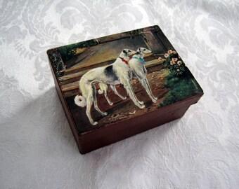 Victorian Style Gift Box / Keepsake Gift Box / Handmade Gift Box