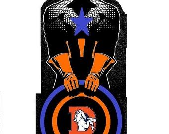 Captain America/ Sports Logos
