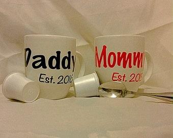 New Mommy/Daddy Mug