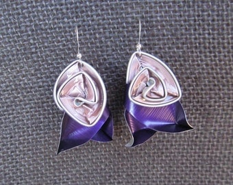 Earrings Cubist Rosar