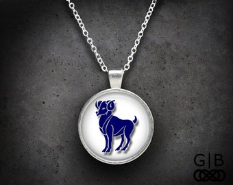 Aries Necklace Zodiac Pendant Aries Jewelry Pendant Aries Zodiac Jewelry Aries Necklace Zodiac Jewelry Aries Necklace Aries Pendant Necklace