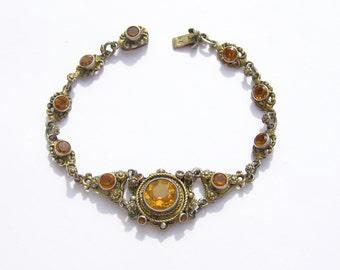 Austro Hungarian Silver(800) Cintrine Bracelet
