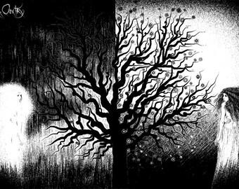 Carmine Burgeon, A1, poster, fantasy/surreal digital painting/illustration