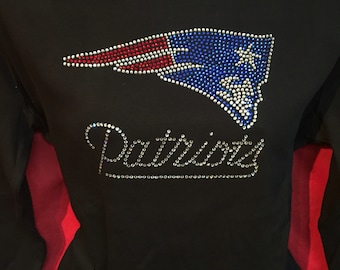 huge discount 50268 30f64 new england patriots bling jersey