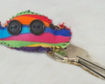 Henry the Hearing Monster Keychain *~Comfort Creatures~*