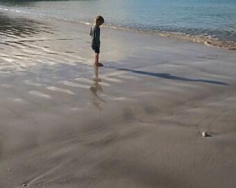 Boy on a beach