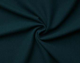 Gaby wool - color: teal - Cashmere - Wool - middle ages - 0.5 m