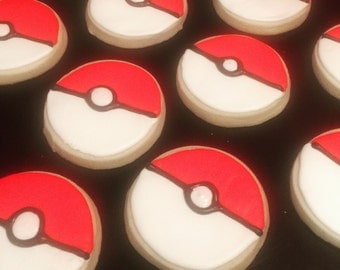 Pokemon Sugar Cookies