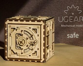 Ugears Safe Mechanical 3d Puzzle …