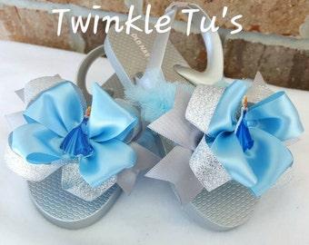 Cinderella Tutu Flip Flops Sandals Shoes