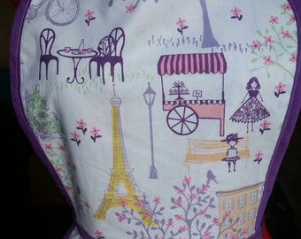 Paris Cafe Apron