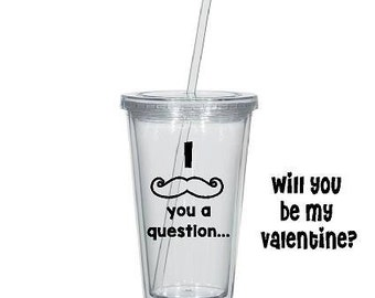 Valentine's Tumber - I mustache you a question