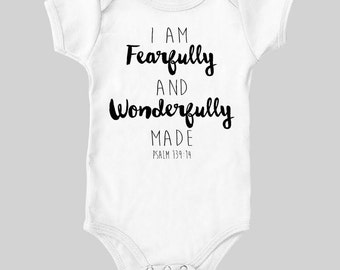 I am fearfully and wonderfully TEE