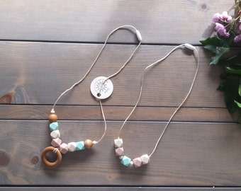 Teething Necklaces, Mommy and Me set -SALE-