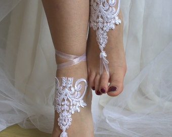 wedding shoes,summer shoes,beach shoes,bridal accessories, white lace,wedding sandals,free shipping! bridal sandals,bridesmaids,wedding.