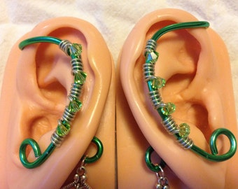 Simple Ear Wrap pair. No Piercing required.