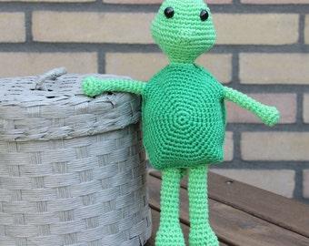 Matt the Turtle Amigurumi