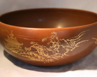 Hand Made Maruni Lacquerware Bowl