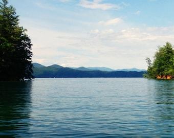 Clear Waters, Lake Jocassee, SC