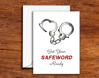 Funny  - Get Your SAFEWORD Ready