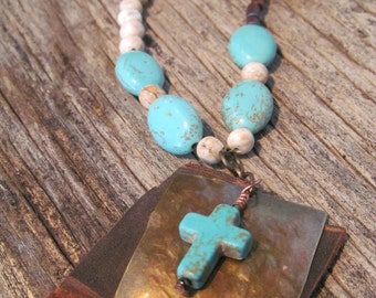 Turquoise Redemption Necklace