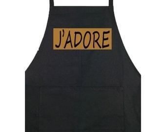 J'adore (I Adore You) Apron