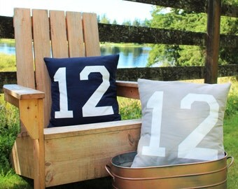 17x17//12th Man Pillow Cover//Free Shipping