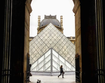 Louvre/Pyramids/Paris/France/Collection/Mystery/Deco/Home/House/Photography/Street/Travel/Trip/Voyage