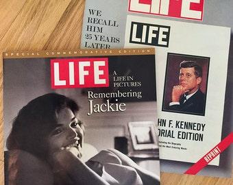 Jack and Jackie Kennedy Commemorative LIFE Magazines