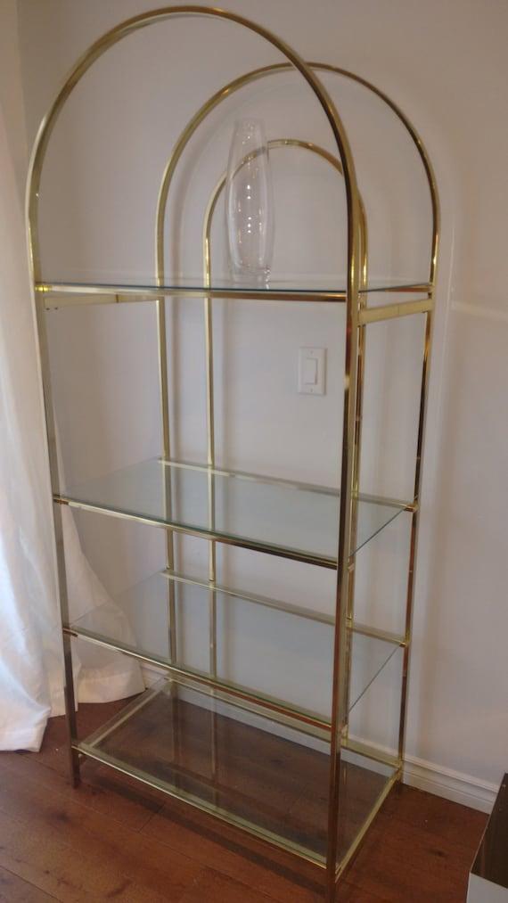 Vintage brass etagere - Etagere string vintage ...