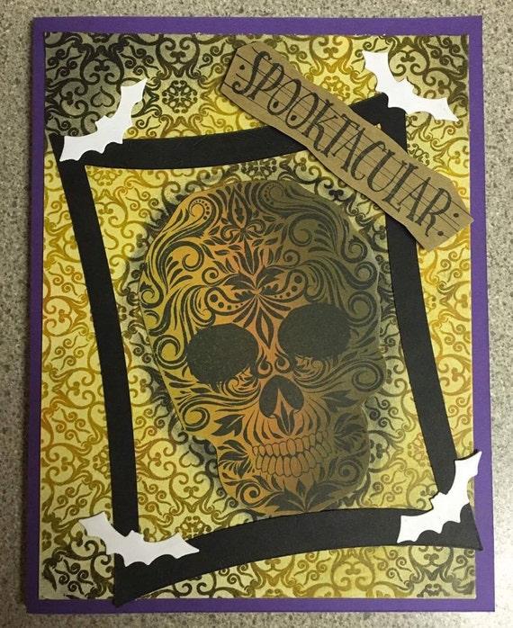 HALLOWEEN Sugar Skull 5 pack cards - My Sugar Skulls